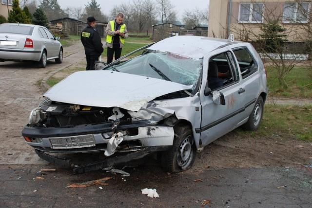 Wypadek w Jasieniu
