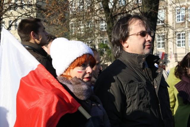 Jak co roku ulicami Gdańska przeszła Parada Niepodległości. ...