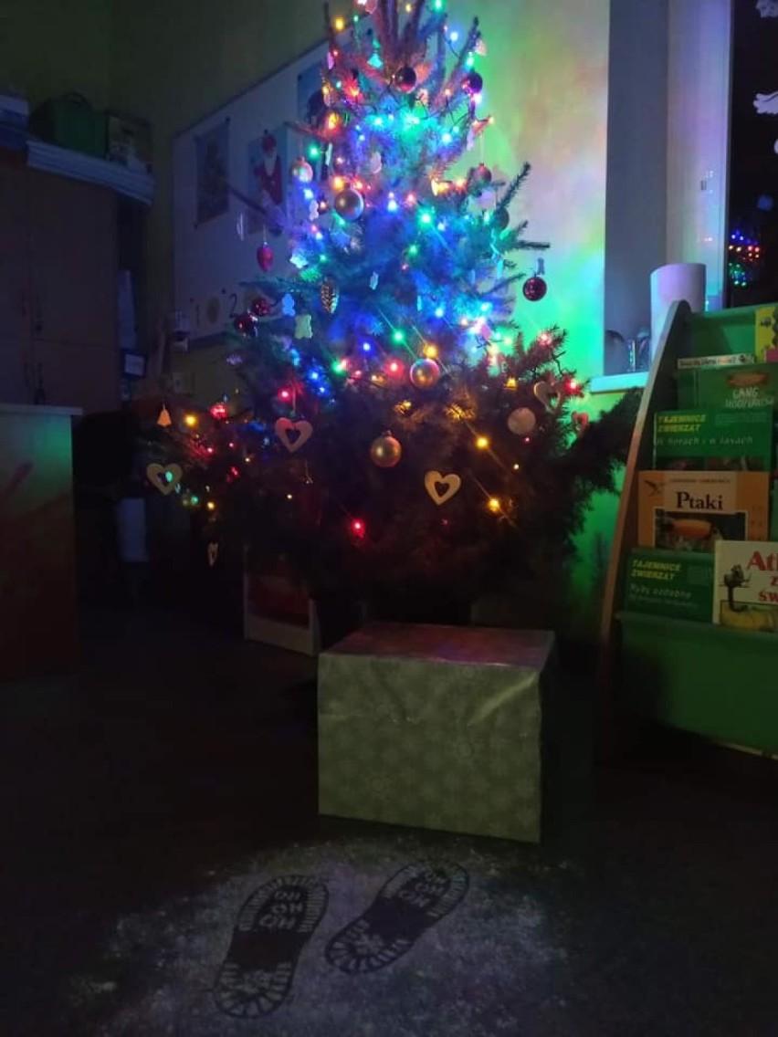 Zbąszyń. Mikołaj odwiedził  gupę 5-6 latków w przedszkolu w Stefanowie - 4 grudnia 2020 [Zdjęcia]
