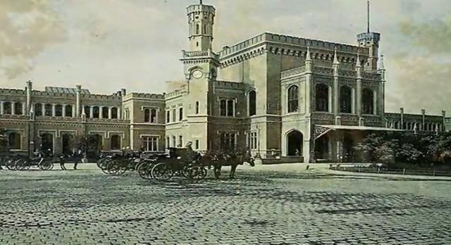 Dworzec Główny przed wojną
