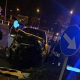 Groźne zderzenie dwóch aut na Sobieskiego