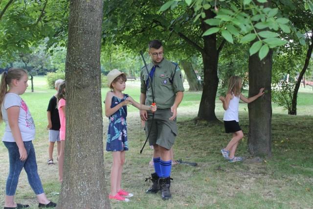 W Unisławiu trwa akcja lato. Dzieci korzystają z wielu propozycji spędzenia czasu