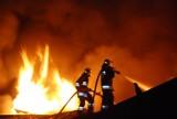 W Międzyborzu paliły się dwa budynki. Doszło do eksplozji?