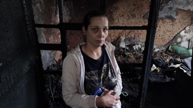 Dwie rodziny poszkodowane w pożarze kamienicy przy Wiejskiej - nie mają już tutaj po co wracać