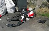 Pow. wodzisławski: Wypadki w Rydułtowach i Radlinie. Samochód zderzył się z motocyklistą