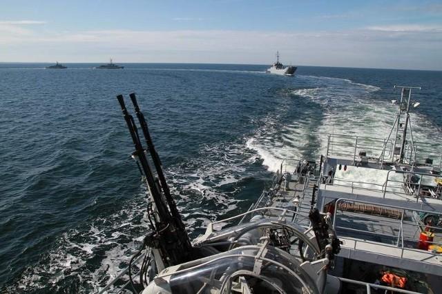 Okręty transportowo-minowe