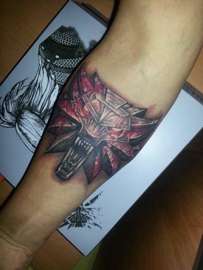 Oni Naprawdę Kochają Wiedźmina Zobaczcie Te Tatuaże Zdjęcia