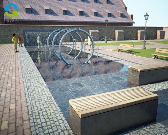 Tak będzie wyglądać nowa fontanna budowana za blisko 2, 5 mln zł