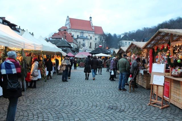 Jarmark świąteczny w Kazimierzu Dolnym
