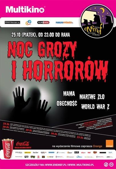 ENEMEF: Noc Grozy i Horrorów [konkurs]