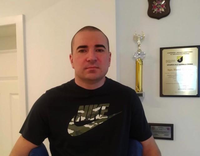 Mieszkający w Goleniowie st. kpr. Kamil Ciosek walczy o powrót do zdrowia