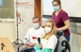 """""""Po prostu zmartwychwstałam"""". W Zabrzu chirurdzy przeszczepili płuca kobiecie, która w ciąży przeszła COVID"""