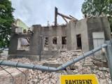 Trwa rozbiórka domu przy Grudziądzkiej. Wiemy co tam będzie! Zobacz zdjęcia