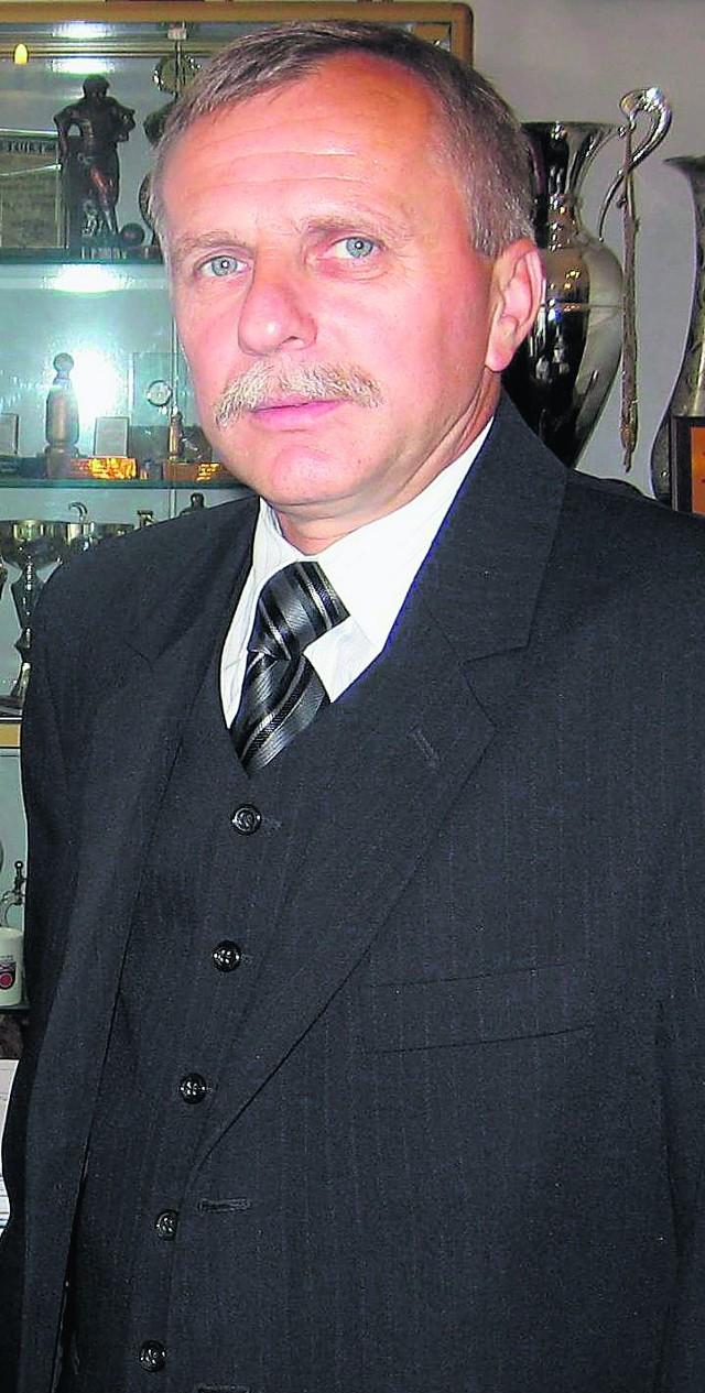 Kazimierz Pałasz pracuje w Zespole Elektrowni Pątnów-Adamów-Konin
