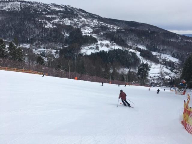 Warunki narciarskie w Beskidach, 1 marca 2020