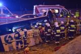 Drugi wypadek ukraińskiego autokaru na A4 przy MOP Kaszyce niedaleko Przemyśla. Jedna osoba zginęła [ZDJĘCIA]