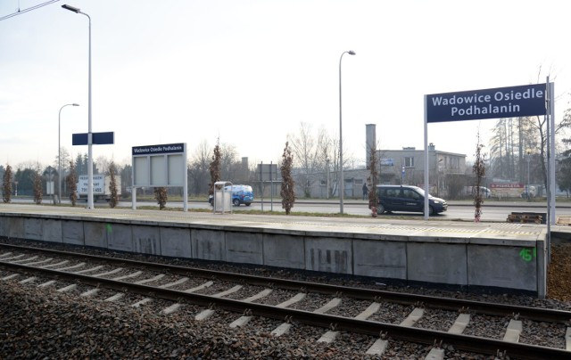 Nowe perony na trasie Kalwaria Zebrzydowska-Wadowice-Andrychów.