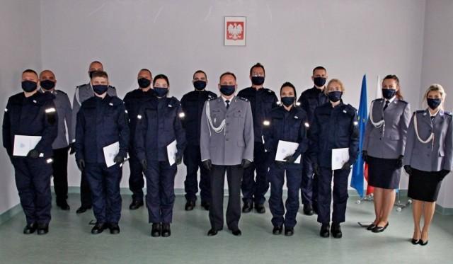 Ślubowanie opolskich policjantów.