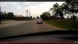 Szalona jazda radiowozu z Lublińca. Który policjant prowadził?