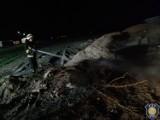 Kolejne pożary traw w powiecie krotoszyńskim. Strażacy apelują o ostrożność [ZDJĘCIA]