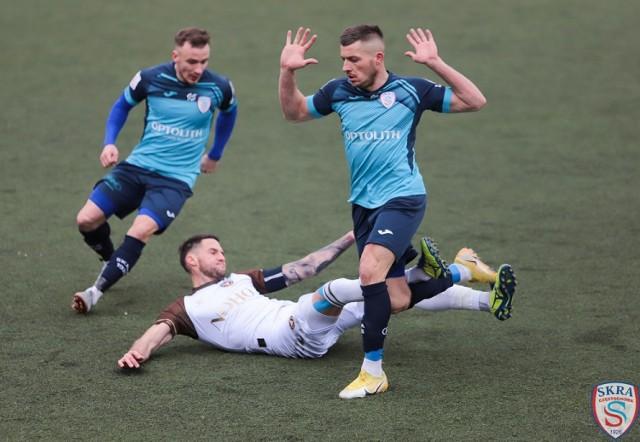 Skra Częstochowa pokonała Garbarnię Kraków 1:0