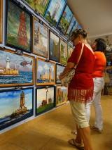 Latarnie morskie z całego świata uwiecznione na obrazach w galerii Stanisława Gerarda Trefonia FOTO