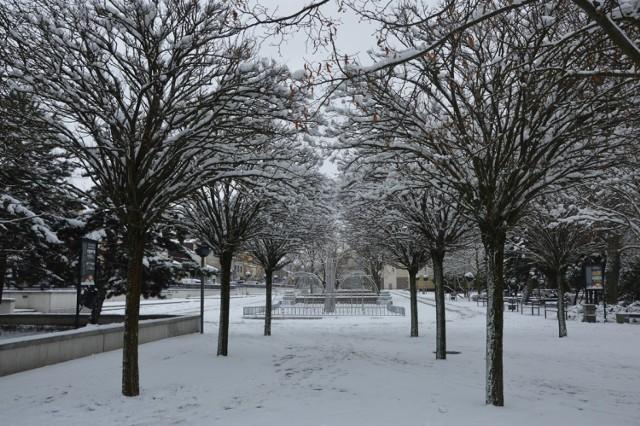 Zima w Bełchatowie, 13.01.2021
