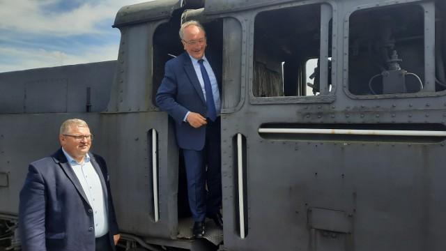 Kaliska kolej wąskotorowa z dofinansowaniem z budżetu województwa wielkopolskiego