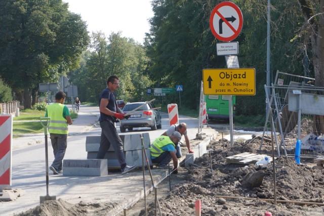 Mieszkańcy Osmolic stracili dwie najkrótsze drogi do Lublina