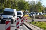 Zaczął się horror drogowy na zachodzie Wrocławia. Wszystko przez remont skrzyżowania Milenijnej i Popowickiej
