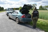 Dorohusk. Dwóch przemytników papierosów zatrzymała Straż Graniczna - zobaczcie zdjęcia