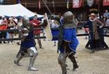 Międzynarodowy Turniej Rycerski w grodzie pod Byczyną. Ależ zacięte walki rycerzy! [WIDEO, ZDJĘCIA]