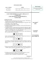 Próbny egzamin gimnazjalny 2018. MATEMATYKA - arkusze zadań i klucz odpowiedzi