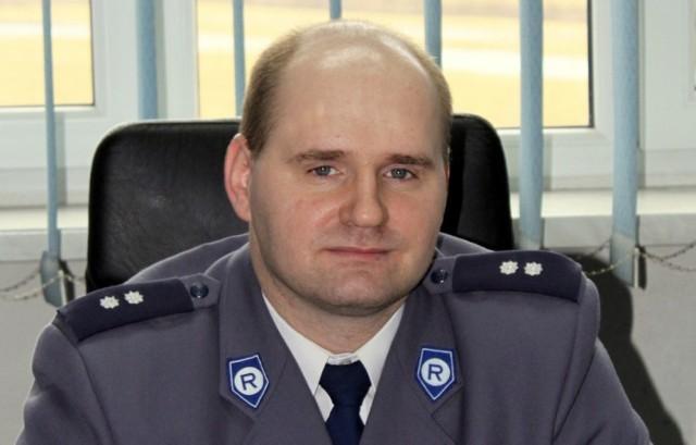 Łukasz Gulczyński został nowym naczelnikiem sekcji kryminalnej