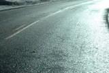 Uwaga na oblodzenia dróg w pow. wieluńskim i sąsiednich