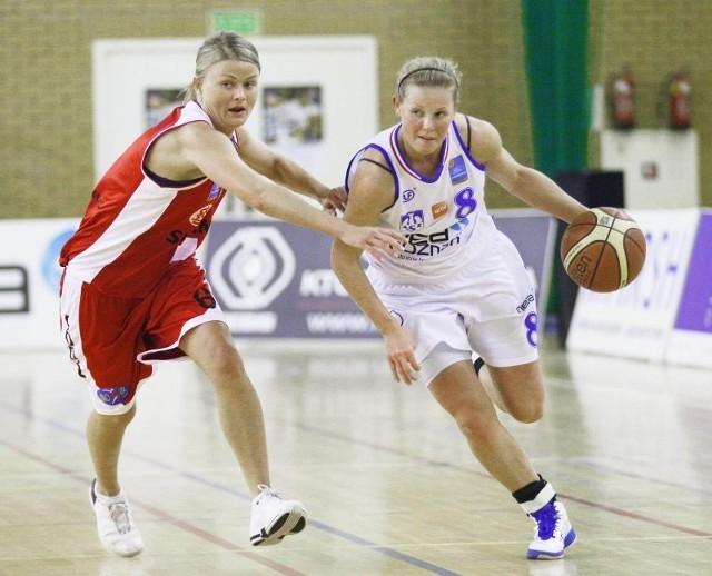 Weronika Idczak (nr 8) poprowadziła akademiczki do wygranej