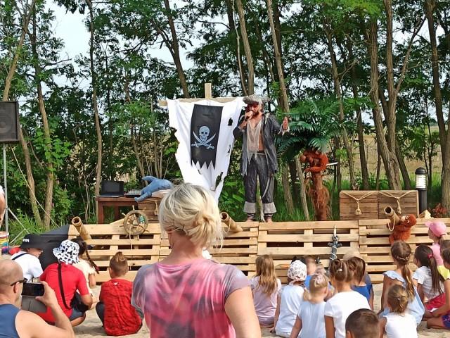 Dzieci doskonale bawiły się podczas pirackiego festynu w Kleczewie
