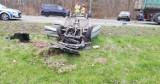 Wypadek przy wyjeździe z Ustki. Karambol czterech aut na DK 21 [ZDJĘCIA]
