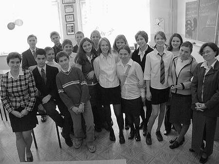 Gimnazjaliści wrócili do Chorzowa w bardzo radosnych nastrojach.