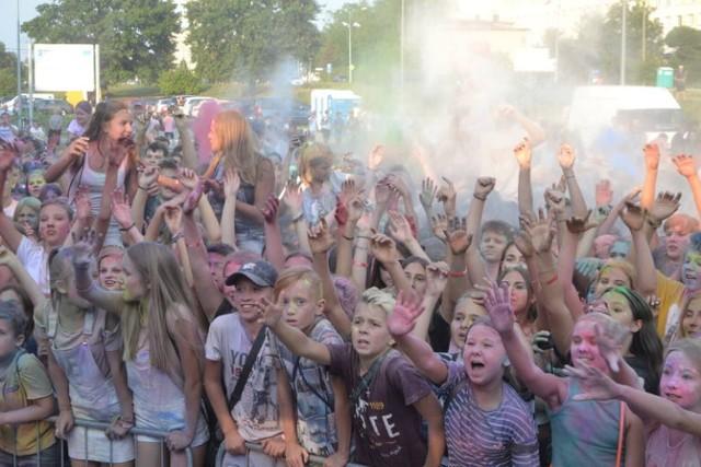 Na zakończenie wakacji w Jastrzębiu odbędzie się festiwal kolorów.