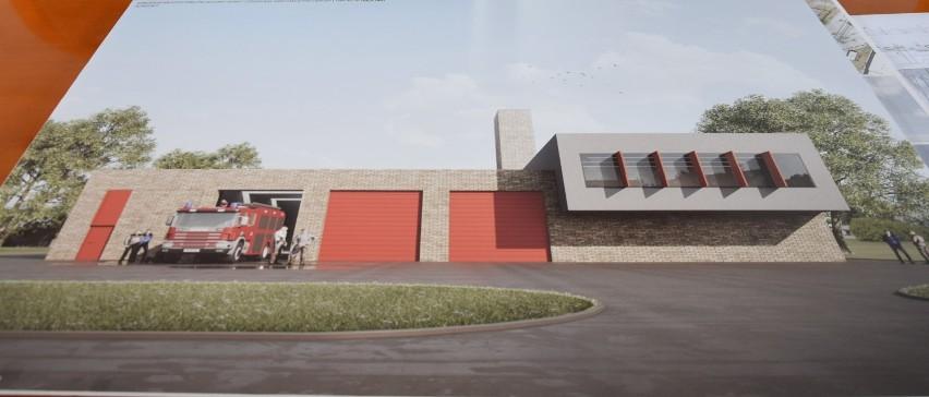 Wkrótce rozpocznie się budowa nowej remizy strażackiej, przy...