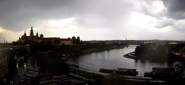 Burze przeszły m. in. nad Krakowem