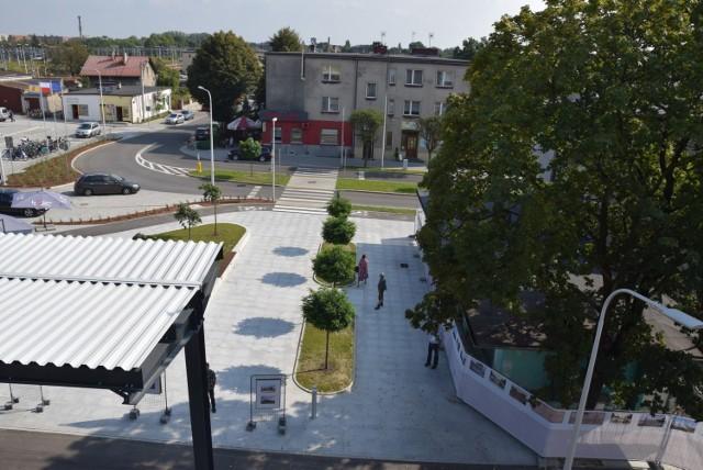 """Lubliniec z dachu centrum """"park&ride"""". Tak prezentuje się miasto z góry!"""