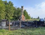 Dom spłonął doszczętnie. W zgliszczach znaleziono ciało mężczyzny