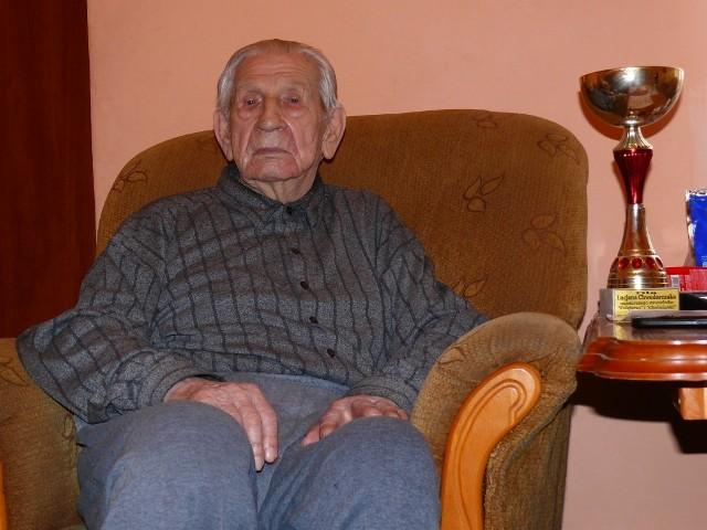 Lucjan Chwedorczuk dziś ma 93 lata