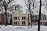 Pałac Tiele-Wincklerów zimową porą. Odrestaurowany bytomski zabytek zachwyca o każdej porze roku