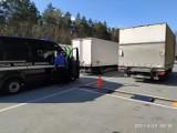 Inspektorzy Transportu Drogowego skontrolowali ciężarówki na drogach w Kujawsko-Pomorskiem. Wszystkie były przeciążone