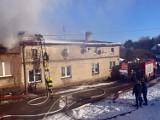 Gmina Ińsko. Spaliło się poddasze budynku w miejscowości Ścienne