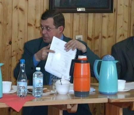 Radny Krzysztof Gogolewski zostanie ukarany za zbyt późne złożenie oświadczenia majątkowego. Fot. M. Sowisło