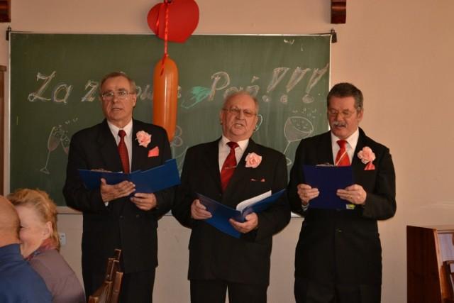 Dzień kobiet w klubie seniora Róża w Człuchowie